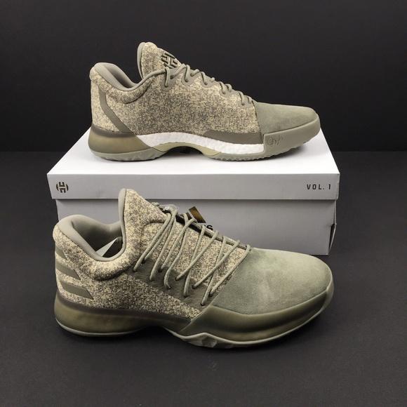 b5e3379a92 Adidas James Harden Vol 1 Sneakers NEW NWT